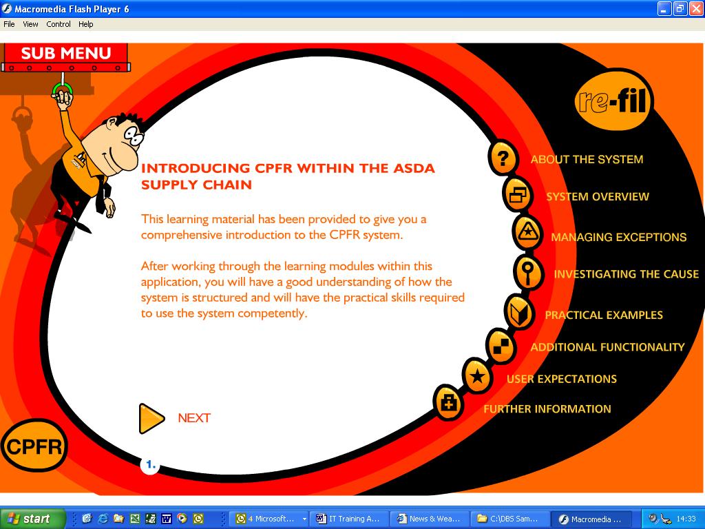 ASDA CPFR module